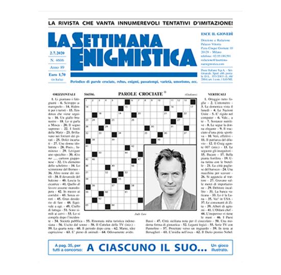 Immagine di ITALIA - LA SETTIMANA ENIGMISTICA