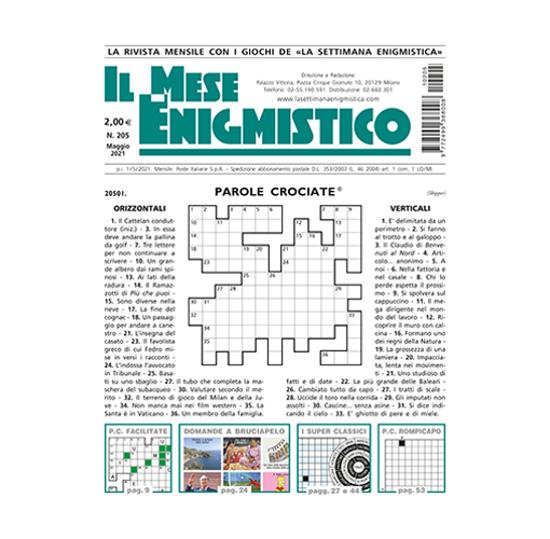 Immagine di ESTERO - IL MESE ENIGMISTICO - Abbonamento 12 mesi